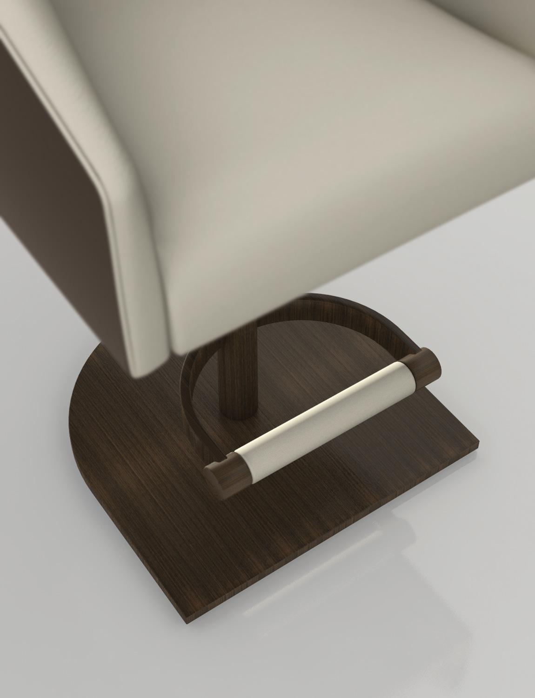 Magni Home Collection Rotunda Barstool